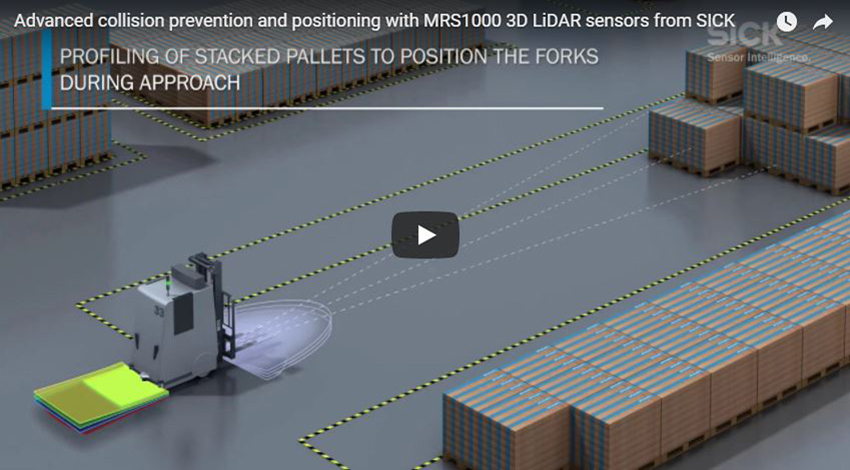 LiDAR Sensors for Industrial & Professional Robotics | EandM