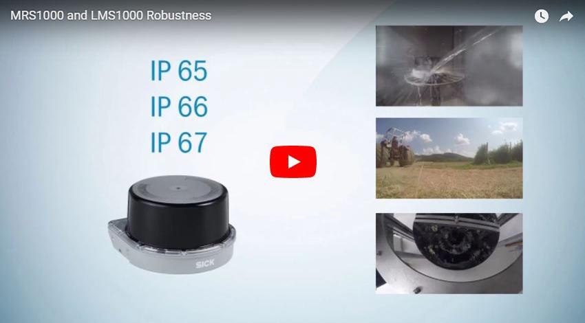LiDAR Sensors for Industrial & Professional Robotics | EandM